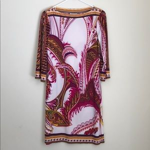 Paisley stretchy cocktail dress! 👍🏻